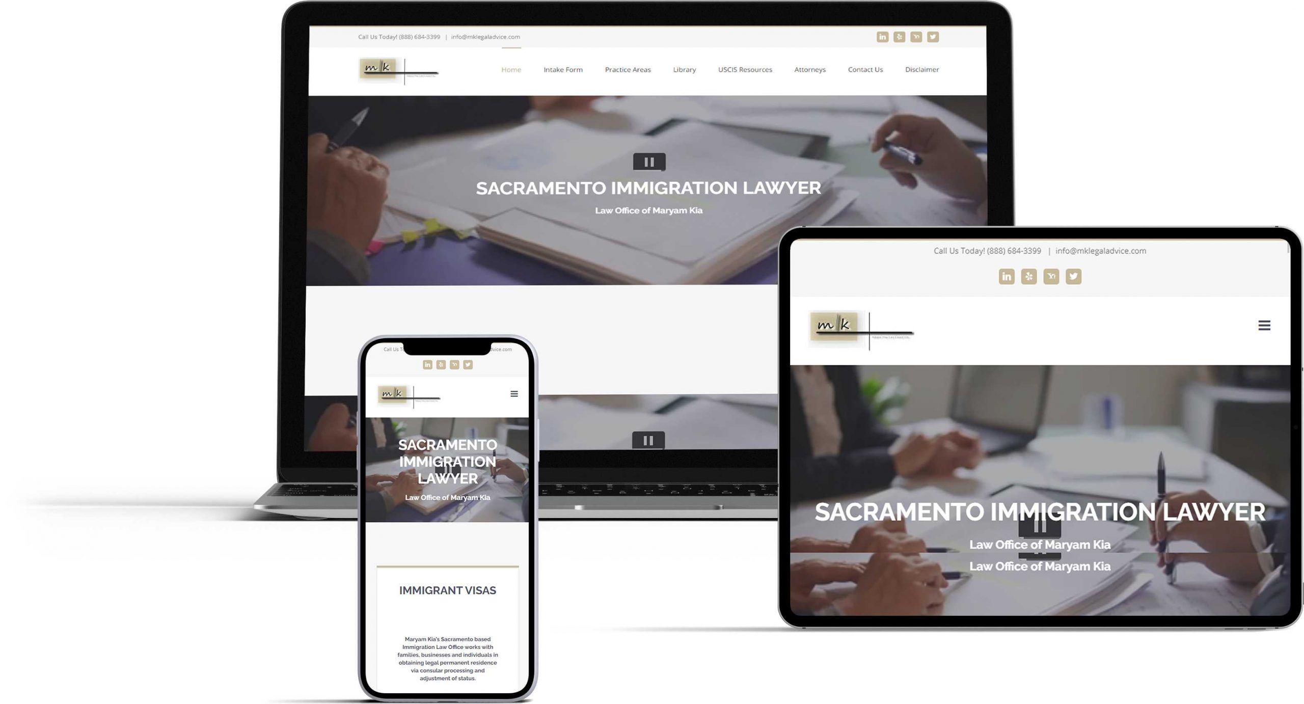 Law Office website