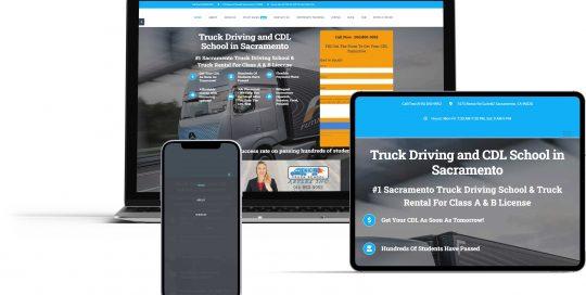 trucking school website