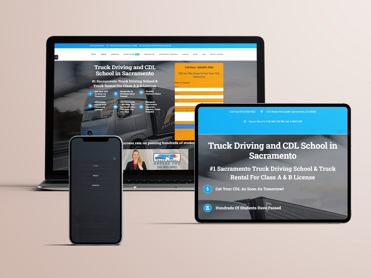 truck school website